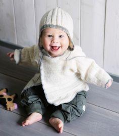 Vauvan Touhu-nuttu ja -myssy neulotaan pehmeästä villalangasta.Koko: (0-3) 6 (9) 12 (24) kkNeuleen mitat: Rinnanympärys: (46) 52 (56) 60 (63) cmNeuleen pit