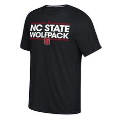 Adidas Men's North Carolina State University Dassler Ultimate Short Sleeve T-shirt (Black, Size Small) - NCAA Licensed Product, NCAA Men's Tops at ...