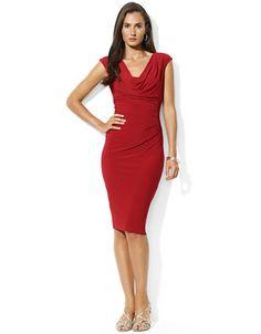 Women's | Dresses | Matte Jersey Cowlneck Dress | Hudson's Bay
