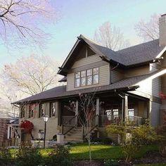 Olive House Paint