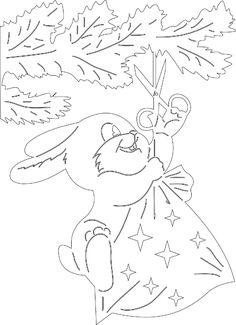 У кого - нибудь есть вытынанки на эту картинку...   Вытынанки шаблоны для вырезания   ВКонтакте Baby Crafts, Diy And Crafts, Paper Crafts, Coloring For Kids, Coloring Pages, Wood Carving Patterns, Little Gifts, Paper Cutting, Stencils
