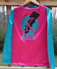 Superhero Girl Cape SHIPS in 2 DAYS Reversible by SuperGirlCapes