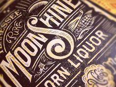 Pure Tennessee Moonshine Corn Liquor #dribbble