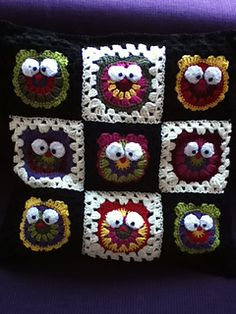 It's a hoot is a fun square that can be used as a separate applique.