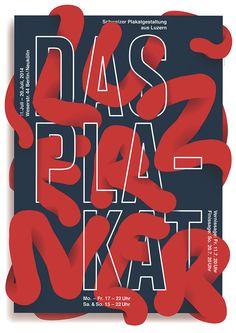 """Josh Schaub """"Luzern in Berlin"""", Das Plakat"""