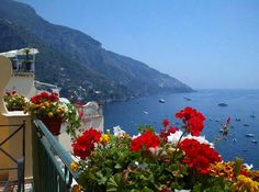 Montemare Hotel, Positano Italy. View from our balcony during our honeymoon. Can't wait to return this year!