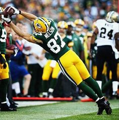 Jordy Nelson -- amazing catches!