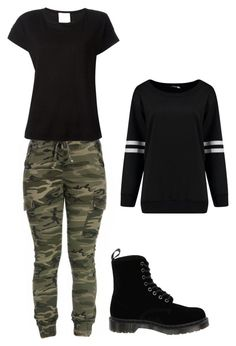 """Untitled #25"" by besirovic ❤ liked on Polyvore featuring Forte Forte and Dr. Martens"