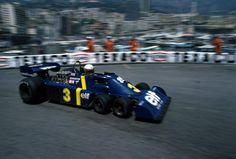 Jody Scheckter (Elf Team Tyrrell), Tyrrell P34 - Ford-Cosworth DFV 3.0 V8, 1976 Monaco Grand Prix, Circuit de Monaco