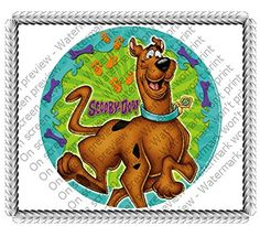 "6"" Round Scooby Doo Your Pal Edible Image Cake Topper A Birthday Place http://www.amazon.com/dp/B015HR65W2/ref=cm_sw_r_pi_dp_jSG4wb0G9RTEW"