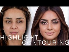 Highlight und Contouring | Cream Version mit TamTam Beauty | Hatice Schmidt - YouTube