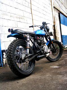 Honda CB 125 By The Katros Garage