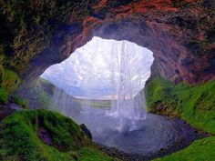 Seljalandsfoss, Iceland - Beautiful places. Best places in the world. Shut up and take me there!