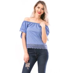 Bluza dama albastra Tops, Women, Products, Fashion, Embroidery, Moda, Women's, Fashion Styles, Woman