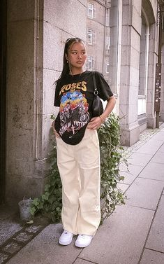 Indie Outfits, Teen Fashion Outfits, Swag Outfits, Retro Outfits, Cute Casual Outfits, Girl Outfits, Teenager Outfits, Tomboy Fashion, Streetwear Fashion