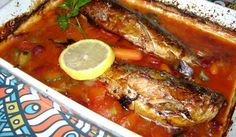 Click here to see the full recipe. Learn how to prepare Mackerel in Tomato Sauce with Beans and Pickles
