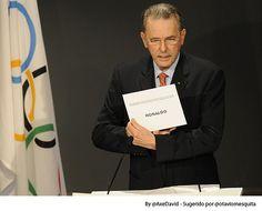 Esta imagem apareceu na sexta-feira, dia da escolha do Rio como sede da Olimpiadas. Parabéns pelo oportunismo.