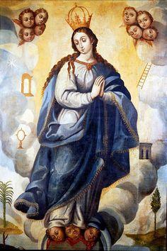 La Inmaculada Concepción, Museo Nacional del Virreinato, Tepozotlán, Edo. de México. | da Tach Jrez. Hra.