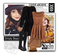 """""""SheIn 4/V"""" by nermina-okanovic ❤ liked on Polyvore featuring MCM"""