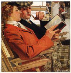 #reading #illustration