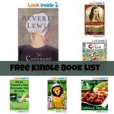 Free Kindle Book List: The Covenant, The Rose Legacy, Lonnie the Lion, and More