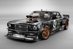 1965 Ford Mustang --> 845 HP AWD Beast