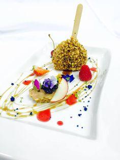 A foie gras lollipop. #interdema #food #cuisine #foodpresentation #italianchief #lifestyle #стильжизни