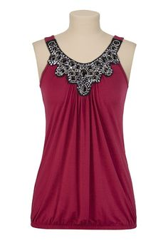 Tank from Maurices :)