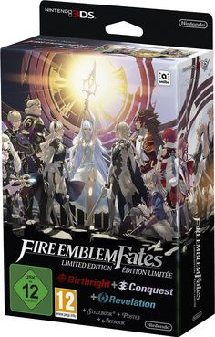 fire emblem fates 3ds | Fire Emblem Special Edition includes Birthright, Conquest and the ...