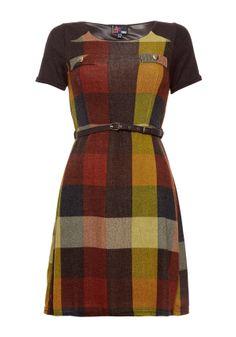 Check Dress - Dresses - Women @Yumi Direct #pintowin
