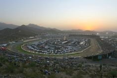 Phoenix International Raceway, also known as PIR, is a one-mile, low-banked tri-oval race track located in Avondale, Arizona. The track opened in 1964 and currently hosts two NASCAR race weekends annually.