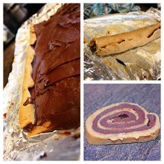 Peanut Butter & Chocolate Pinwheels | Junk in the Trunk Vintage Markets