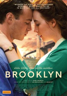 Brooklyn, John Crowley, 2015 [Saoirse looks so beautiful on this poster]