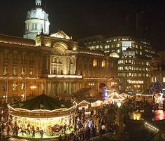 Birmingham Frankfurt Christmas Market & Craft Fair. Venue: Victoria Square and New Street, Date 2012: 15th November – 22 December, Time: 10am – 9pm