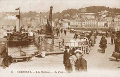 guernsey islands | Old Photos of Guernsey (Page 3) in the Channel Islands in the British ...