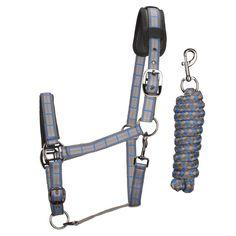 De #HH Padding #Halsterset heeft een halster met een neoprene padding. Deze padding is makkelijk schoon te maken met water. Het halster is op 2 plekken verstelbaar. Het touw heeft een lengte van 200cm. www.divoza.com