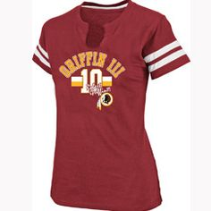 I would love to win this Ladies Redskins Robert Griffin III My Crush T-Shirt.