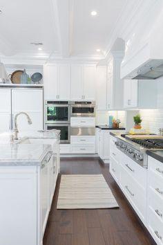 white kitchen | Gilmore Design Studio
