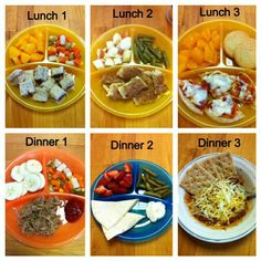 Kids Meals Beginning New Chapters: Toddler Meals - would only use the meals themselves. S already eats much better than this. Baby Food Recipes, Snack Recipes, Cooking Recipes, Toddler Recipes, Dinner Recipes, Lunch Snacks, Healthy Snacks, Healthy Recipes, Detox Recipes