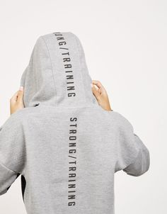Cropped sport sweatshirt with mesh detail - Sweatshirts - Bershka Spain http://www.uksportsoutdoors.com/product/thorlos-experia-running-socks/
