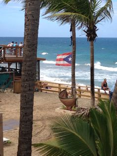 Tamboo Restaurant, Rincon, Puerto Rico. Been there on that top deck!