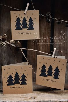 christmas cards // sweet living and things www.586eventgroup.com