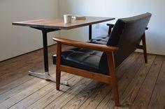カリモク60 Kチェア + カフェテーブル