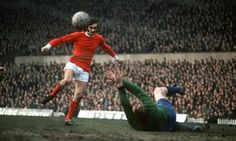 George Best in 1968: when he received the ball at away grounds there was a 'sudden low growl of apprehension from home fans.' Photograph: Bob Thomas/Getty Images