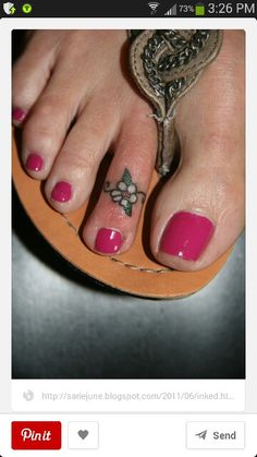 Heart toe ring tattoo...cute! | Pics, Pics, Pics ...