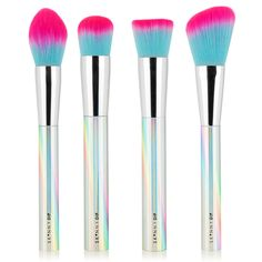 The Holographic collection, makeup brushes from skinny dip