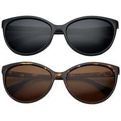 c400965deca grinderPUNCH Women s Polarized Cateye Sunglasses Lentes De Sol 2 Pack Saver  50 mm Round Face Sunglasses