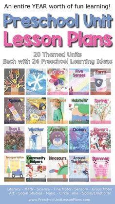 Preschool Themes & Lesson Plans