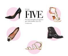 Os cinco modelos de sapatos que toda mulher deve ter