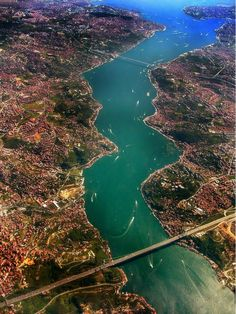 Istanbul from the bird's eye